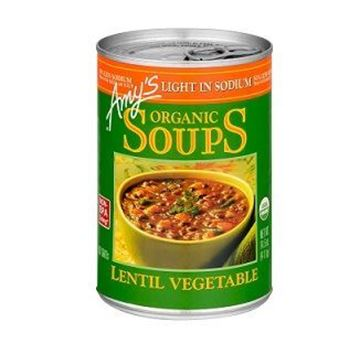 Picture of Amy's Organic Lentil Vegetable Soup