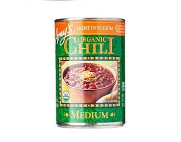 Picture of Amy's Organic Chilli Medium (Red Bean & Tofu) Soup