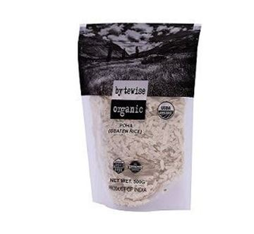 Picture of Bytewise Poha/Rice Flakes (Certified ORGANIC)