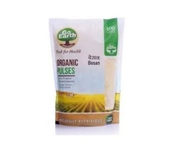 Picture of Go Earth Besan (Gram) Flour (Certified ORGANIC)
