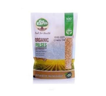 Picture of Go Earth Channa Dal/Split Bengal Gram (Certified ORGANIC)