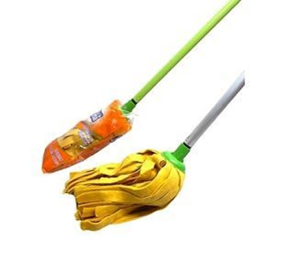 Picture of 3M Yellow Mop With Steel Handle (501 3MY +H)(Scotch Brite)