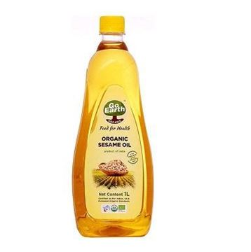 Picture of Go Earth White Sesame/Gingelly Oil (Certified ORGANIC)
