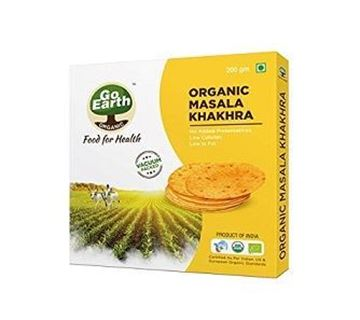 Picture of Go Earth Masala Khakhra (Certified ORGANIC)