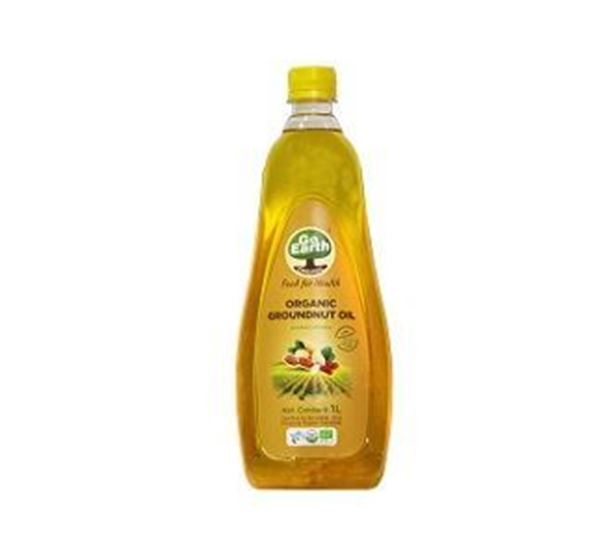 Picture of Go Earth Groundnut Oil (Certified ORGANIC)