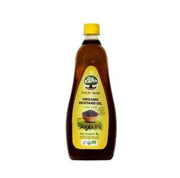 Picture of Go Earth Cold Pressed Mustard Oil (Certified ORGANIC)