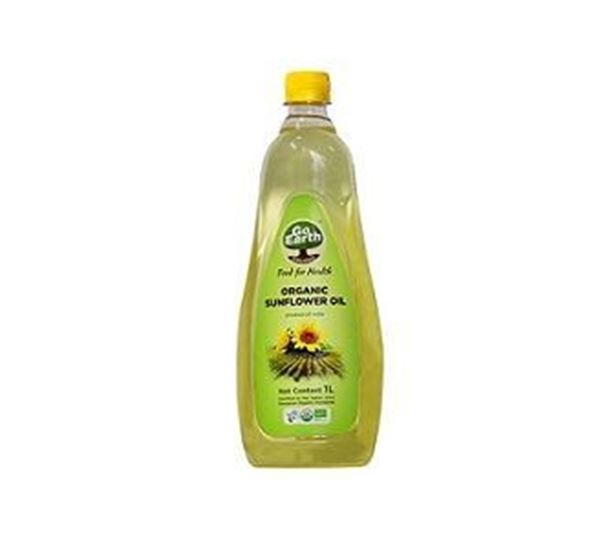 Picture of Go Earth Sunflower Oil (Certified ORGANIC)