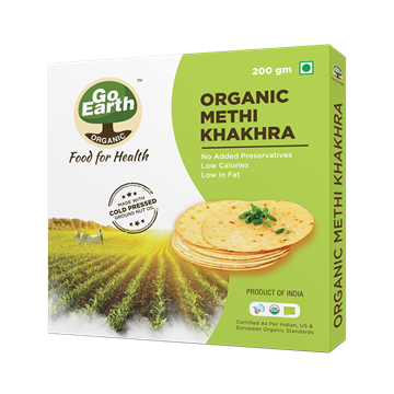 Picture of Go Earth Methi Khakhra (Certified ORGANIC)