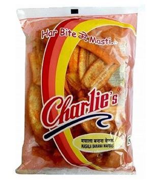 Picture of Charlie's Snacks Banana Wafer Masala Mari