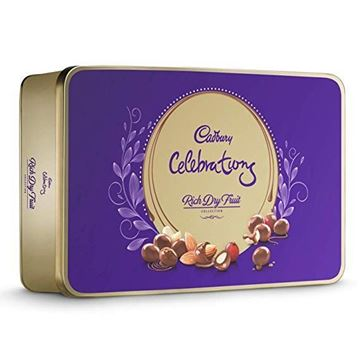 Picture of Cadbury Celebrations Rich Dry Fruit Chocolates Gift Box