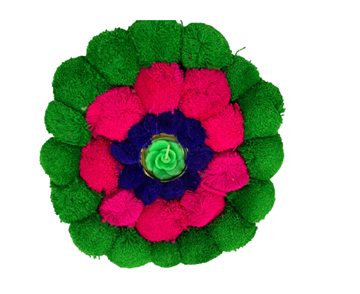 Picture of DIYA Floral T LITE Floating Wax (Green)