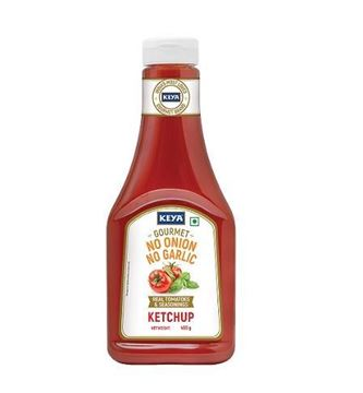 Picture of Keya Gourmet No Onion No Garlic Tomato Ketchup Squeeze Bottle  (75% OFFER)