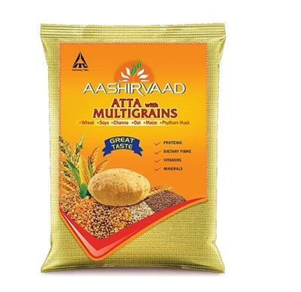 Picture of Aashirvaad Whole Wheat Flour (Atta) with Multigrains India