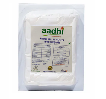 Picture of Aadhi Premium Fresh Paneer BLOCK (Delivered at least 2 days before it expires)
