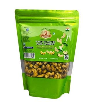 Picture of Anarkali A1 Quality Oven Roasted Mint Cashew Nuts