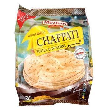 Picture of Mezban Whole Wheat Chapathi Value Pack (Chilled)