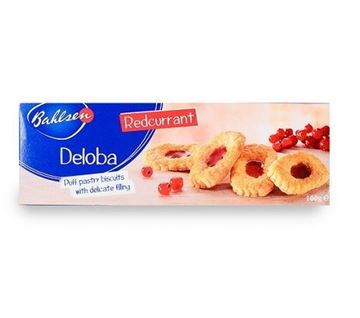 Picture of Bahlsen Deloba Red Currant Puff Pastry Biscuits