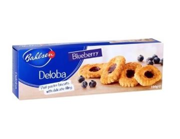Picture of Bahlsen Deloba Blue Berry Puff Pastry Biscuits
