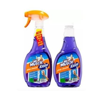 Picture of Mr Muscle Lavender Glass Cleaner Bottle