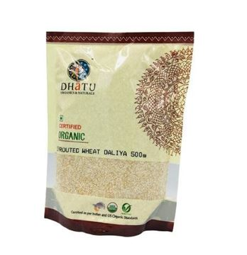 Picture of Dhatu Sprouted Wheat Daliya (Certified ORGANIC)