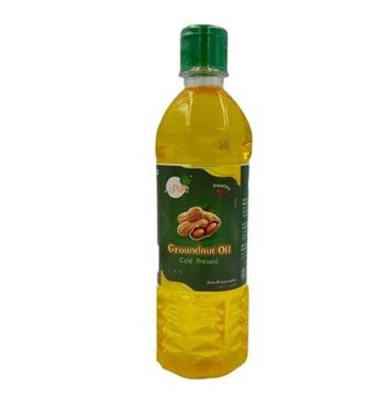 Picture of Juspure Premium Chekku Cold Pressed  Groundnut Oil