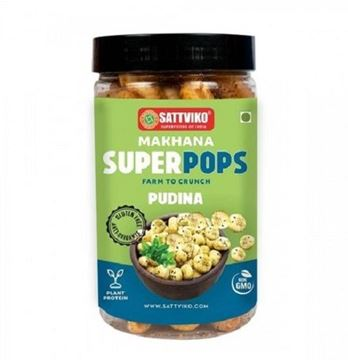 Picture of Sattviko Makhana Superpops Pudina (Mint)