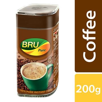 Picture of BRU Instant Pure Coffee Bottle