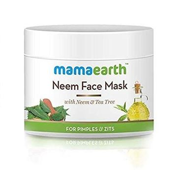 Picture of Mamaearth Neem Face Mask With Tea Tree oil (Certified ORGANIC)
