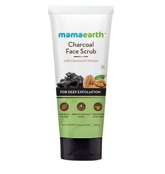 Picture of Mamaearth Charcoal Face Scrub (Certified ORGANIC)