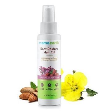 Picture of Mamaearth Root Restore Hair Oil For Hair Fall Reduction (Certified ORGANIC)