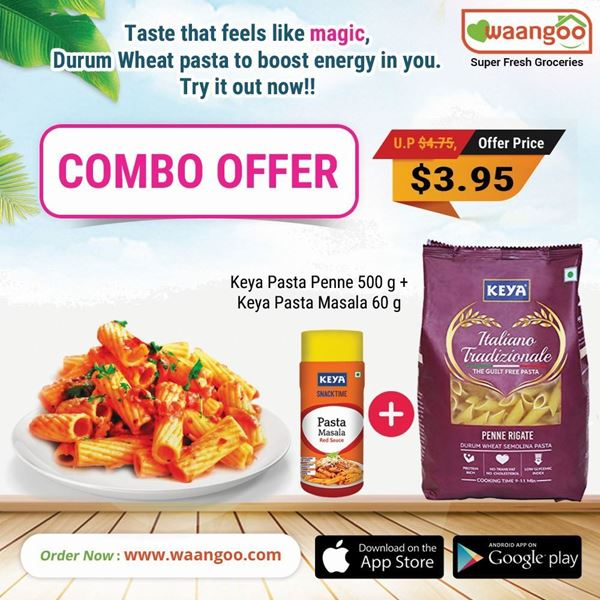 Picture of Keya Pasta Penne & Pasta Masala Combo Offer