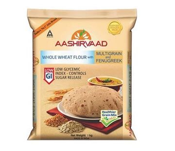 Picture of Aashirvaad Low GI Sugar Release Control Atta (Wheat Flour)