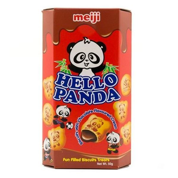 Picture of Hello Panda Biscuits With Chocolate Flavoured Filling
