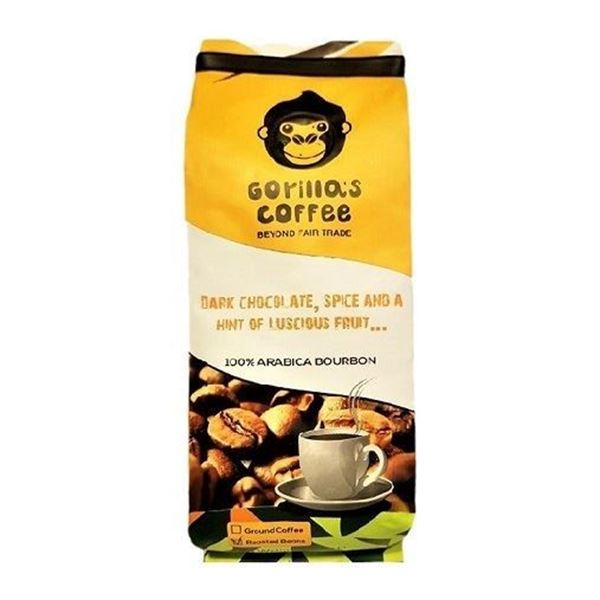 Picture of Gorilla's Premium Medium Roasted Ground Coffee (100% Arabica Bourbon)