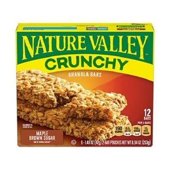 Picture of Nature Valley Crunchy Maple Brown Sugar Granola Bar