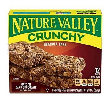 Picture of Nature Valley Crunchy Oats In Dark Chocolate Granola Bar