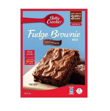Picture of Betty Crocker Fudge Chocolate Brownie Mix