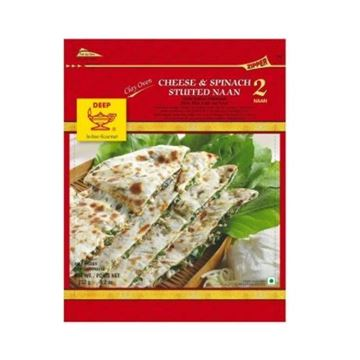 Picture of Deep Cheese & Spinach Stuffed Naan (Chilled)