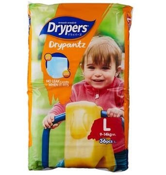 Picture of Drypers Drypantz Diapers (9 To 14 Kg ) L