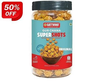 Picture of Sattviko Gur Chana Supershots Original