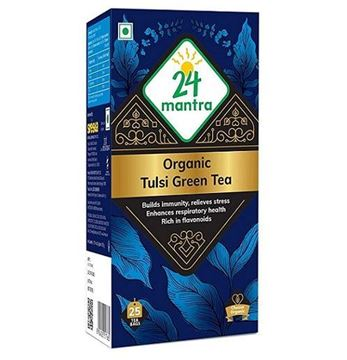 Picture of 24 Mantra Tulsi Green Tea (Certified Organic)