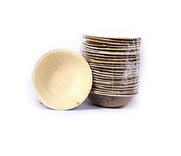 Picture of Peshwai's Areca Leaf Disposable Round Bowls