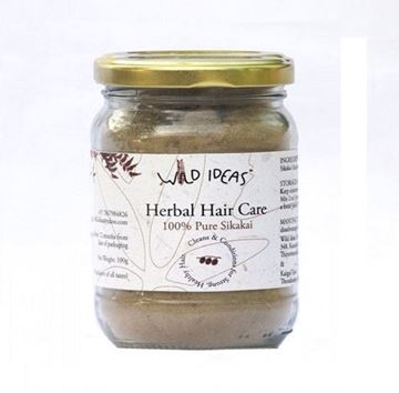 Picture of Wild Ideas Herbal Hair Care Powder Pure Sikakai