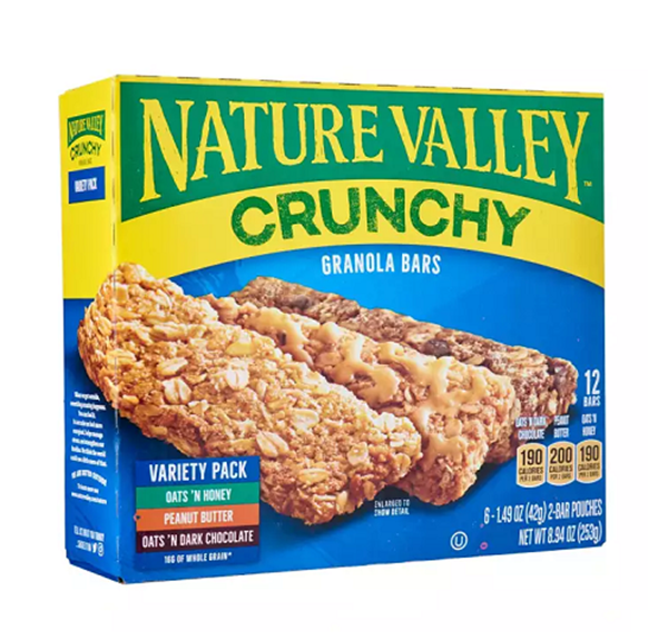 Picture of Nature Valley Crunchy Granola Bar Variety Pack