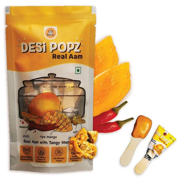 Picture of Go Desi Natural Real Aam Popz