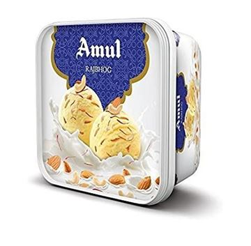 Picture of Amul Ice Cream Rajbhog Tub  (Chilled)