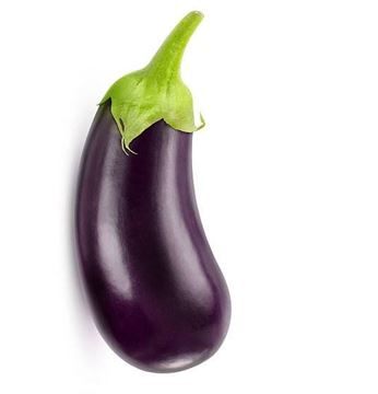 Picture of Fresh Oval Brinjal Thailand (Eggplant)
