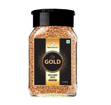 Picture of Narasu's  Instant Gold Freeze Dried Coffee Bottle