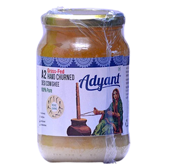 Picture of Adyant A2 Grass Fed Bilona Pure Cow Ghee
