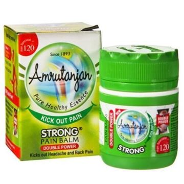 Picture of Amrutanjan Strong Pain Balm(Green)